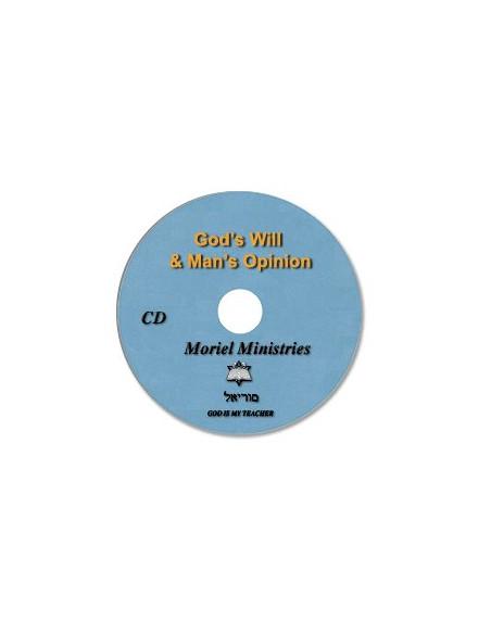 God's Will & Man's Opinion - CDJP0266