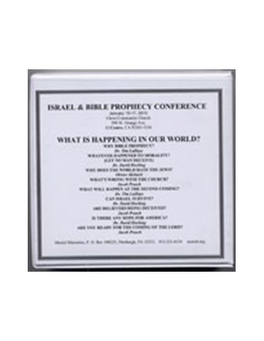 Israel & Bible Prophecy Conference...