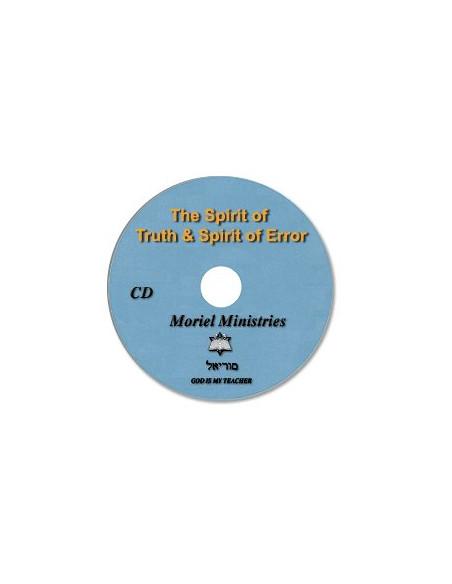 Spirit of Truth & Spirit of Error, The - CDJP0048